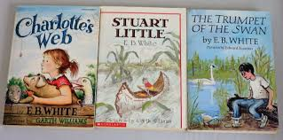eb white treasury lot 3 scholastic books charlotte u0027s stuart