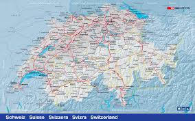 swiss map switzerland hotel directory and travel information swiss railway map