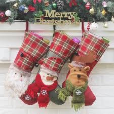 3pcs hanging ornament supplies socks 18 34