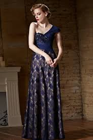 chiffon one shoulder lace ink blue prom dress 2016 lace prom