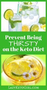 stop being thirsty on the keto diet lazy keto