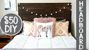 50 diy rustic wood headboard youtube
