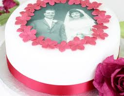 Wedding Anniversary Cakes Wedding Anniversary Cake Decorating Kit With Photo Topper