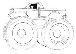 monster truck coloring pages kids big rig monster truck