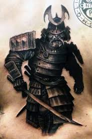 samurai warrior tattoos for men pictures to pin on pinterest