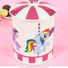 Pink Kitchen Canisters My Little Pony Merry Go Round Ceramic Cookie Jar Novelty Kitchen