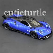 blue pagani kinsmart 2016 pagani huayra bc 1 38 diecast toy car kt5400d blue