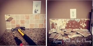 removing kitchen tile backsplash removing tile backsplash captivating interior design ideas