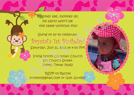 monkey birthday theme mod monkey love birthday invitation monkey