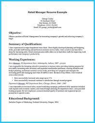 Retail Manager Sample Resume by Retail Manager Resume Examples 2015 You Could Need Retail Manager