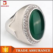 green gemstones rings images Indonesia lucky stone finger ring single stone ring designs for jpg