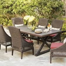 outdoor wicker patio dining sets gccourt house