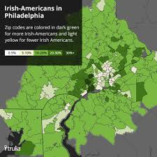 Greensboro Nc Zip Code Map by America U0027s Most Irish Towns