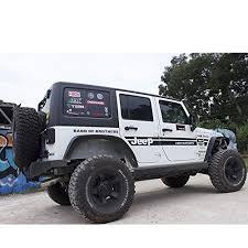 2011 jeep wrangler fender flares amazon com u drive 4pcs black steel fender flare fit 2007 2016