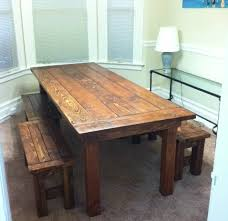 farm tables with benches ana white farm house table and benches diy projects