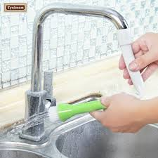 how to clean kitchen faucet kitchen faucet tap shower vegetable fruit potato carrot