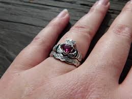 Non Traditional Wedding Rings by Non Traditional Engagement Rings Weddingbee