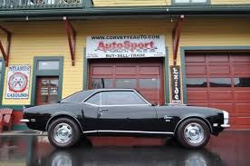 68 camaro ss 396 1968 camaro ss rs tuxedo black s matching 396 factory ac