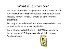 What Is Legally Blind Fota Conference 2013