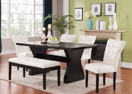 Espresso Dining Room Sets Acme Furniture Effie 7 Piece Rectangular Dining Set In Espresso By