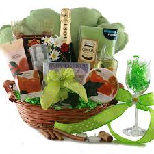 wine and gift baskets spa gift baskets bubbles wine gift basket diygb