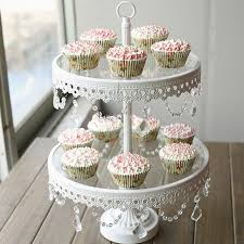 cake tier glass cake stand 2 tier white iron cany cookie display tray table