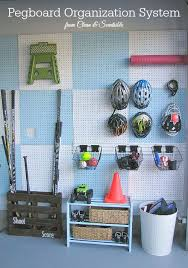9 clever sports equipment storage solutions pegboard