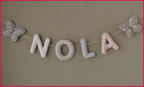 lettres décoratives chambre bébé lettre prenom chambre bebe 146380 banderole prénom ou lettres pour
