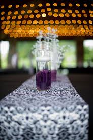 Purple Wedding Centerpieces Purple And White Wedding Ideas