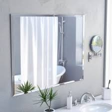 Beveled Mirror Bathroom Frameless Mirrors You Ll Wayfair