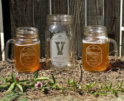 beer unity set 2 mason jar glasses u0026 1 wide mouth