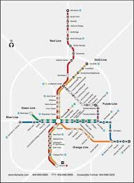 Marta Train Map Atlanta Marta Kinda Releases Future Transit Map Atlanta