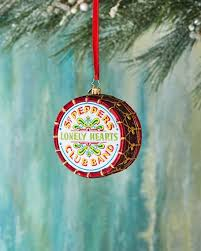 christopher radko beatles large sgt peppers drum ornament