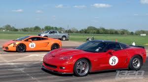 corvette vs lamborghini 1200hp z06 vs 1500hp lambo race