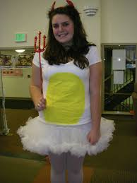 Egg Halloween Costume Minute Halloween Costume Ideas Lulus Fashion Blog