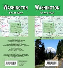 Washington State Maps by Washington State Map G M Johnson U0026 Associates Ltd