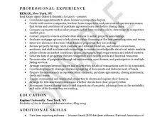 Realtor Resume Sample by Simple Resume Template Haadyaooverbayresort Com