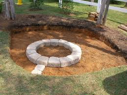How To Make A Fire Pit In The Backyard by How To Make A Fire Pit In Backyard Home Decorating Inspiration
