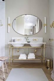 Brass Fixtures Bathroom Brass Vanity Contem Home Pinterest Vanities Bath And