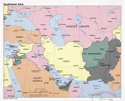Southwest Asia And North Africa Blank Map by Southwest Asia Physical Map With Of Roundtripticket Me