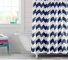 chevron shower curtain pottery barn kids