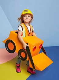 digger halloween costume construction cruiser costume instructions parents