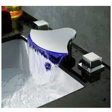 cozy led bathroom sink faucet and cold water mixer with led