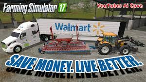 Walmart Trailer Tires Farming Simulator 17 Mods Hiring Walmart Youtube