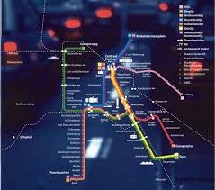 Amsterdam Metro Map by Subways Transport