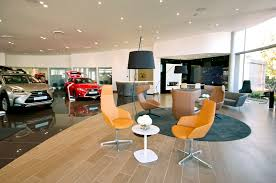 lexus showroom refurbishment