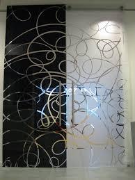 casali porte in vetro sabbiate e incise laccata modello aura