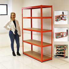 Heavy Duty Garage Shelving by Metal Racking Zeppy Io