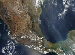 Wildfire From Space by Busy 2011 Fire Season In Mexico Natural Hazards
