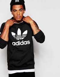 original design adidas originals trefoil hoodie men 00156